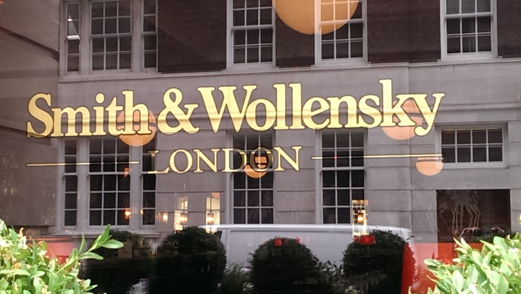 Smith And Wollensky London Restaurant